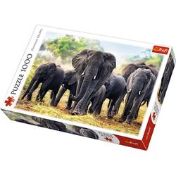 Trefl - Puzzle - Elefanten 1000 Teile