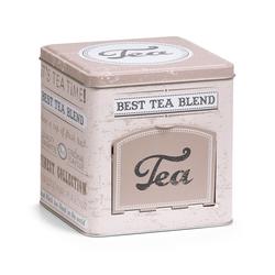 Teedose TEA mit Klappe Zeller