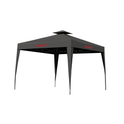 Justus Grillpavillon,schwarz,250 x 250 x 260 cm (L x B x H)