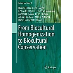 From Biocultural Homogenization to Biocultural Conservation - Buch
