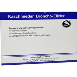KASCHMIEDER Broncho Elixier vet. 108 ml