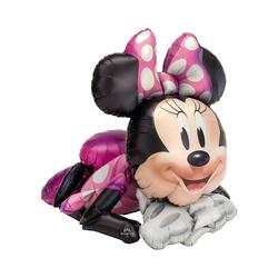 Amscan Airwalker-Ballon Folienballon Airwalker Minnie Maus