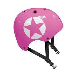 STAMP Kinderfahrradhelm Skaterhelm, pink
