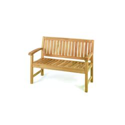 ROG-Gardenline Bank WINDSOR, TEAK BANK, 2-SITZER 124 cm x 88 cm x 66 cm