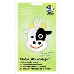 Filz-Set Glücksbringer Kuh