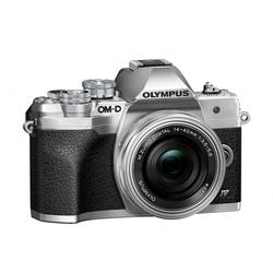 Olympus OM-D E-M10 Mark IV + 14-42mm Pancake EZ silber