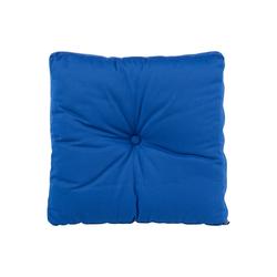 BioKinder - Das gesunde Kinderzimmer Sitzkissen, Sitzkissen 40x40 cm Blau blau