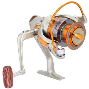 Spinning Angelrolle 12BB Salzwasser Spinnrad Ozean Meer Boot Eis Angelrolle Trolling Metall EF500-9000(EF8000)