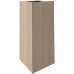 fm Plant Pflanzkübel Holz 38,0 x 38,0 x 90,0 cm akazie