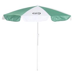 Sonnenschirm für Kinder, grün-weiß, Kindersonnenschirm