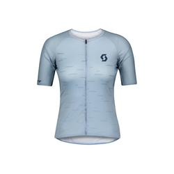 Scott Radtrikot Scott Fahrradshirt Damen RC Premium Climber s/sl blau XL