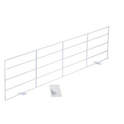 TRIXIE 4417 Schutzgitter für Fenster, oben/unten, 65 × 16 cm, weiß