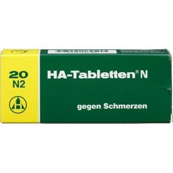 HA-Tabletten N gegen Schmerzen