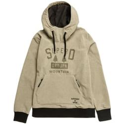 Superdry - Snow Tech Hood M Grey Marl - Sweatshirts - Größe: M