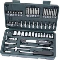Brüder Mannesmann Werkzeuge Brüder Mannesmann Steckschlüsselsatz metrisch 1/4 (6.3 mm) 65teilig M29165