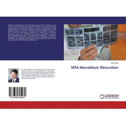 MTA Monoblock Obturation als Buch von Zahid Iqbal