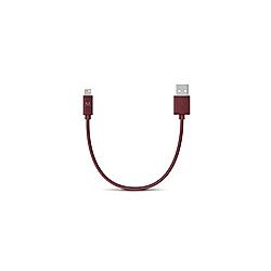 FRESH 'N REBEL USB auf Lightning Kabel 0 2m  Ruby Red
