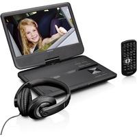 Lenco DVP-1010BK tragbarer DVD-Player Schwarz