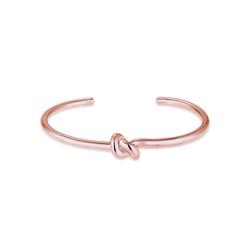 Elli Armreif Armspange mit Knoten 925 Silber rosa