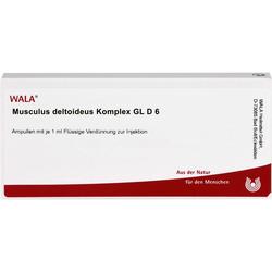 MUSCULUS DELTOIDEUS Komplex GL D 6 Ampullen 10 ml