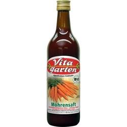 VITAGARTEN Möhren Saft biologisch 750 ml