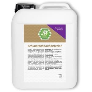 Schlammabbau Bakterien 5 Liter für 50.000 Liter Koiteich Teichbakterien Teich