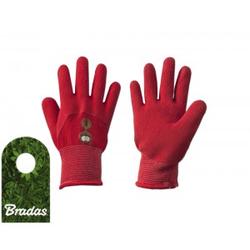 Gartenhandschuhe Schutzhandschuhe Kinderhandschuhe Latex Größe 4 BRADAS 5779