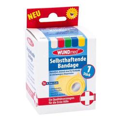 BANDAGE selbsthaftend 5 cmx4,5 m farb.sort.