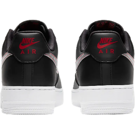 Nike Men's Air Force 1 '07 black/anthracite/university red/silver 42,5