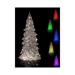 Weihnachtsbaum LED Acryl, klein (12,5cm)