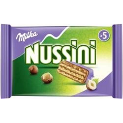 Milka Nussini 5er Inhalt: 157.5g