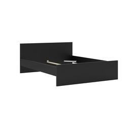 ebuy24 Bett Nada Bett Doppelbett für Box Matratze 160x200 cm, schwarz