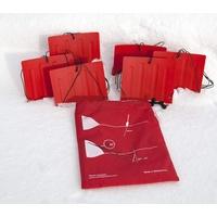 SwissPiranha Swiss Piranha Schnee & Sand Anker, 6 Stück