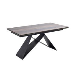 MCA furniture Esstisch Kobe in Holzoptik barrique