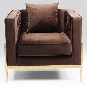 Kare Design Sessel Loft Braun