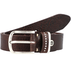 b.belt Fashion Basics Cleo Gürtel Leder dunkelbraun 85 cm