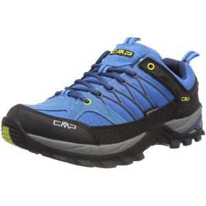 CMP – F.lli Campagnolo Herren Rigel Low Shoe Wp Trekking- & Wanderhalbschuhe, Türkis (Indigo-Marine 02lc), 41 EU