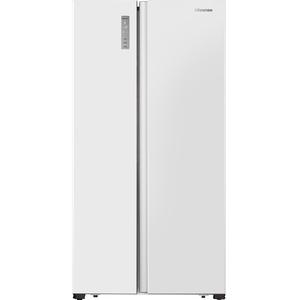 Hisense RS677N4AWF  Integriert/Freistehend  Weiß  Amerikanische Tür  LED  LED  Gehärtetes Glas/Kunststoff