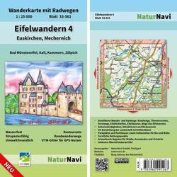 Eifelwandern 4 - Euskirchen Mechernich 1 : 25 000