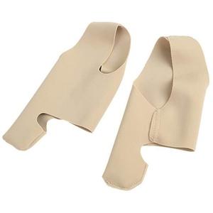 HEALLILY Hallux valgus Zehenspreizer Bandage von Bunion Sleeve Hallux valgus Korrektur Ultradünne Fußschiene Daumen Korrektur Socken Fußpflege 1 Paar
