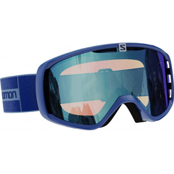 SALOMON AKSIUM PHOTOCHROMIC Schneebrille 2021 navy/photochromic blue all weather