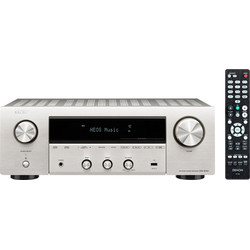 Denon DRA-800H 2 Stereo-Netzwerk-Receiver (WLAN, Bluetooth) silberfarben