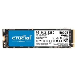 Crucial P2 M.2 2280 PCIe 3.0 x 4 SSD 500GB SSD-Festplatte