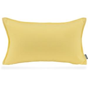 H.O.C.K. Caribe Outdoor Kissen 50x30cm wasserabweisend / lichtecht für den Garten (50x30cm, Yellow Limon)
