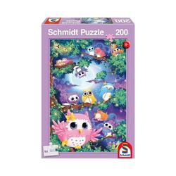 Schmidt Spiele Puzzle Im Eulenwald, 200 Teile, Puzzleteile