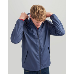 Tom Joule Regenjacke im klassischen Design Portwell blau XL