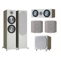 MONITOR AUDIO Bronze 6G Cinema 500 urban grey Lautsprecher-Set 5.1 5.1 Soundsystem (5.1 Heimkino Set)