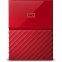 Western Digital My Passport 4TB USB 3.0 rot (WDBYFT0040BRD-WESN)