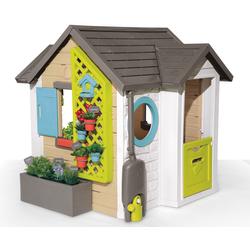 Smoby Spielhaus Gartenhaus, Made in Europe bunt Kinder Outdoor-Spielzeug