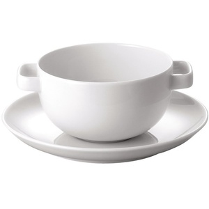 Rosenthal Studio + Selection Moon Suppentasse 2-TLG. Weiss